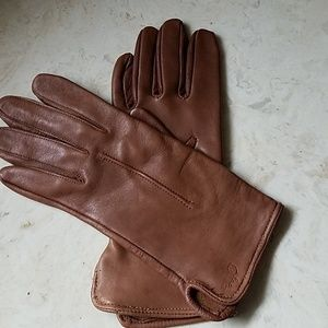 Vintage Stetson leather gloves